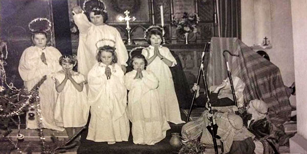 Nativity play - c.1963